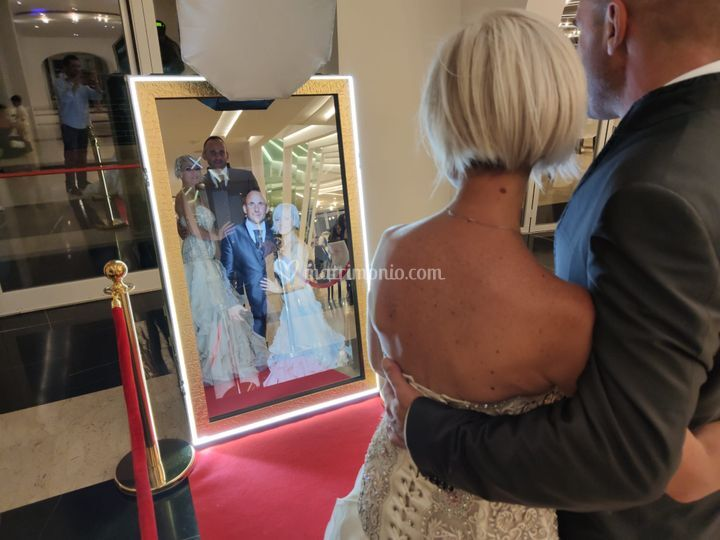 Photo in specchio magico
