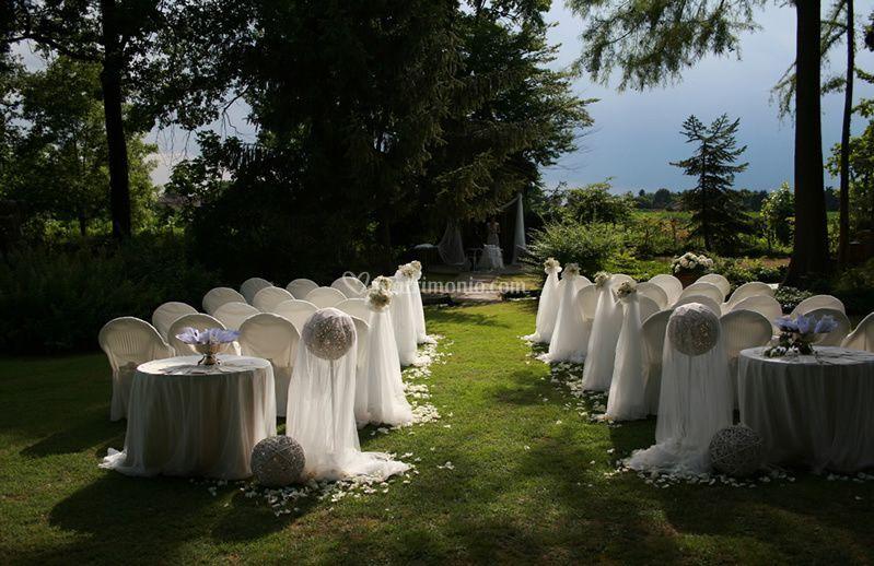 Addobbo cerimonia civile