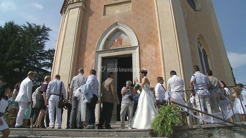 La chiesa e gli invitati