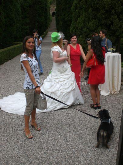 Matrimonio al Giardini Giusti