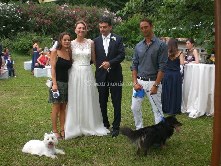Matrimonio con Penny e Ralphe