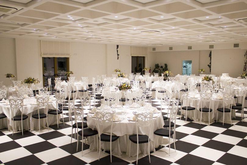 Sala interna cerimonia