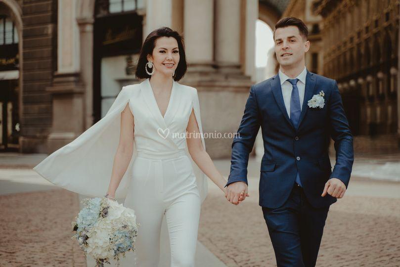 Matrimonio piazza duomo milano