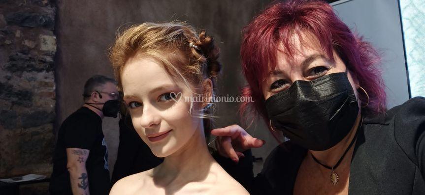 Capellimania Hairstylist Maria Avaro