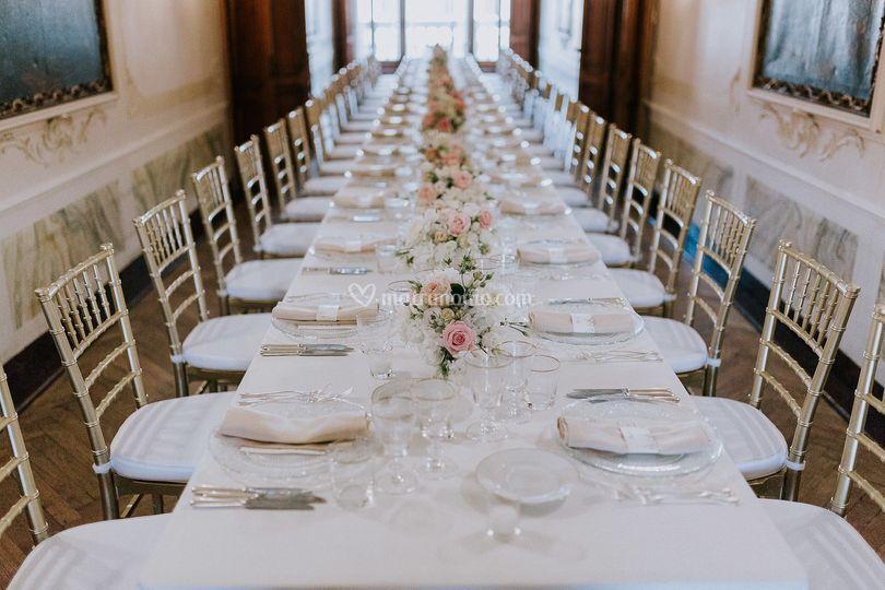 Tavolo imperiale venezia