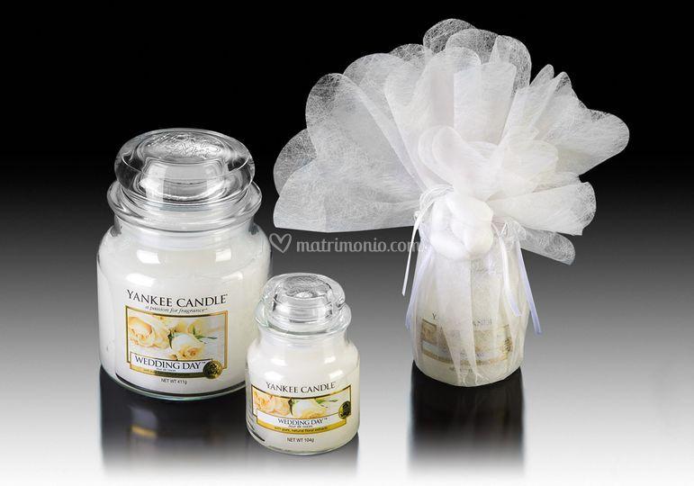 Matrimonio Tema Yankee Candle : Bomboniera yankee candle di piccole fantasie foto