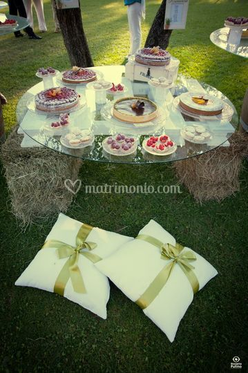 Il dolce in stile Country Chic