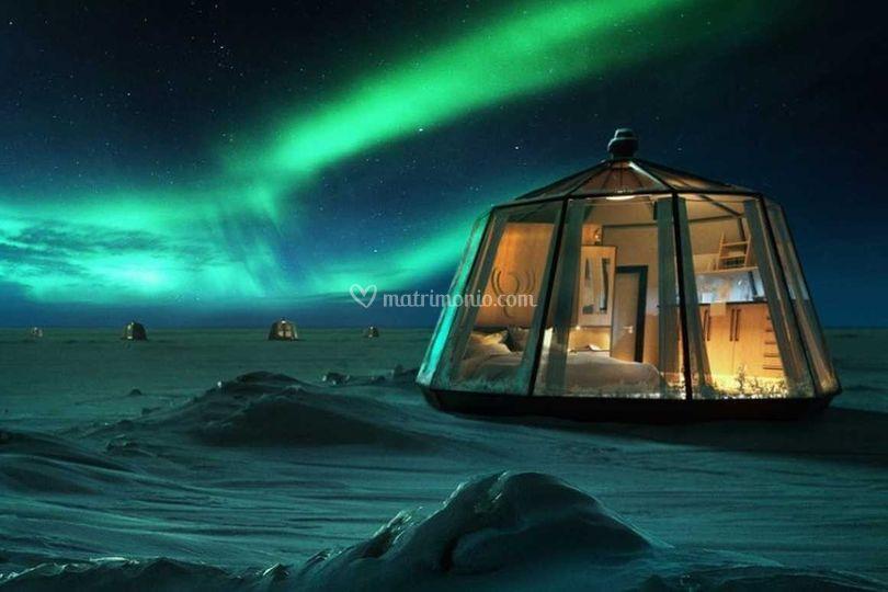 Norvegia e l'aurora boreale