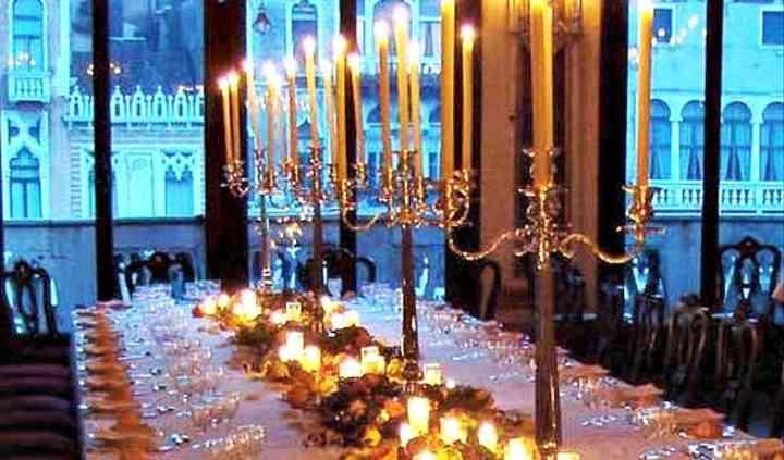 Tavolo imperiale canal grande