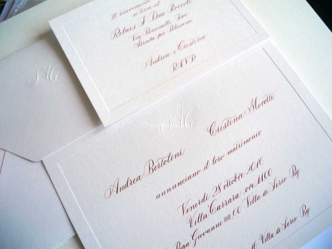 Partecipazioni Matrimonio Inglese.Set Corsivo Inglese Di Manuela Madini Fotos