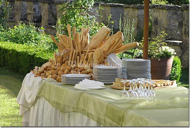 Catering in villa