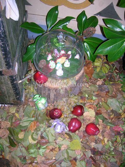 Le mele nel bosco
