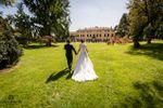 Sposi nel giardini secolare