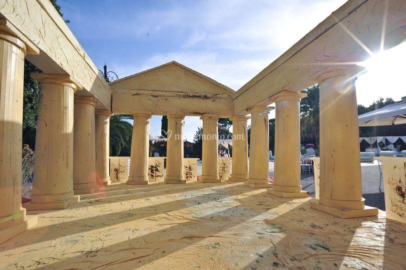 Auguri Matrimonio Greco : Tableau tempio greco for rent di gli auguri originali