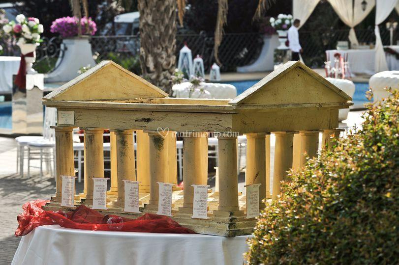 Auguri Matrimonio Greco : Tableau tempio greco di gli auguri originali foto
