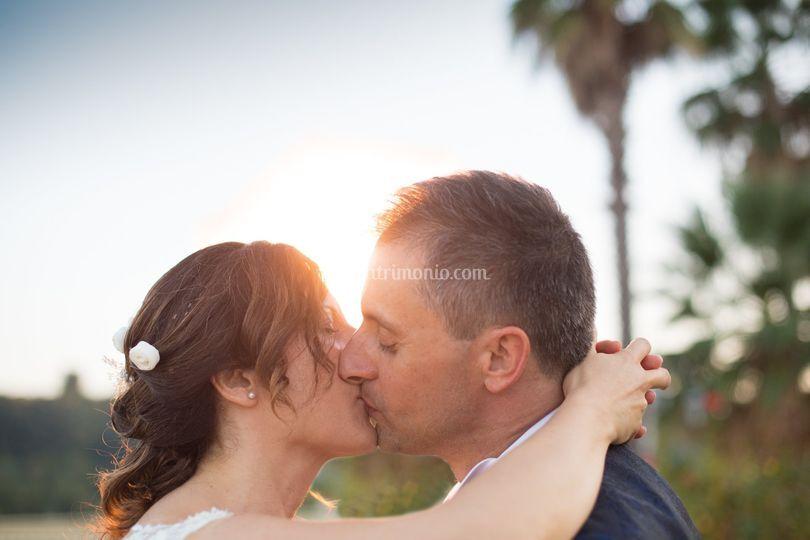 Bacio mentre si è baciati