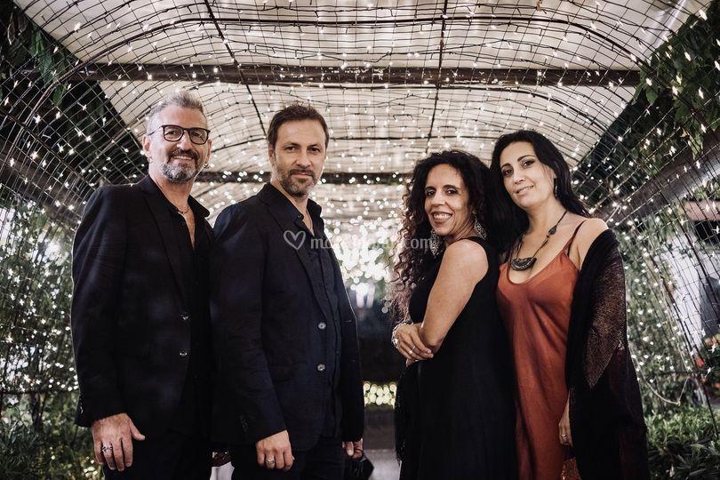 Blue Eclectic quartet