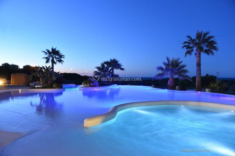 I colori della piscina di relais masseria caselli foto 52 for Piantina della piscina