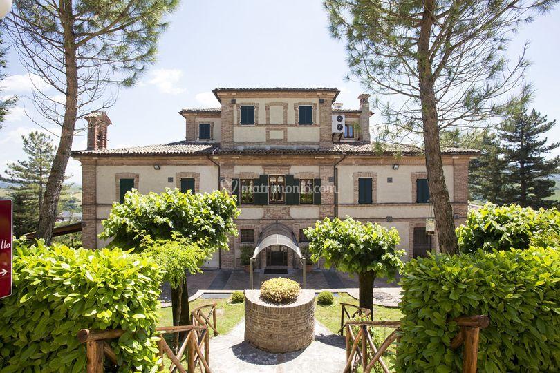 Villa, ingresso