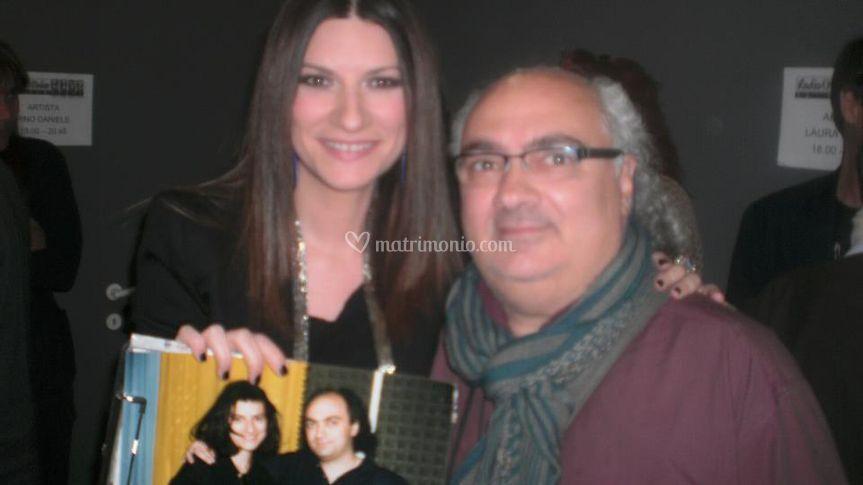 Mauro e Laura Pausini