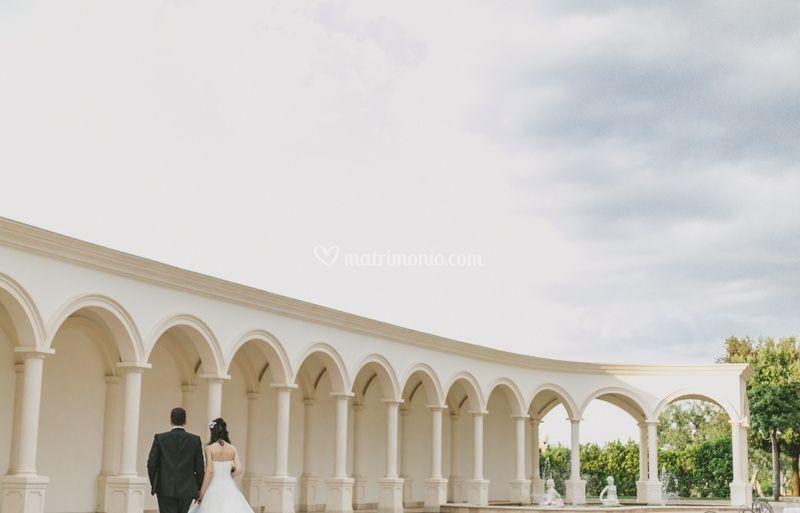Wedding under the Apulia sky