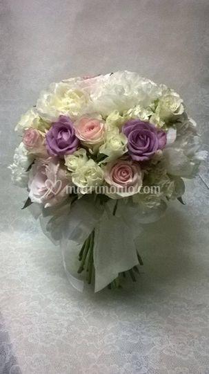Bouquet con steli a vista