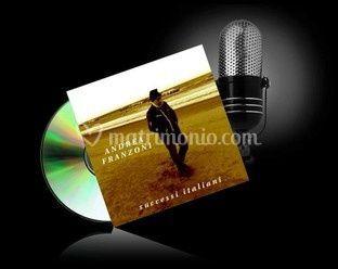 Copertina CD Andrea Franzoni