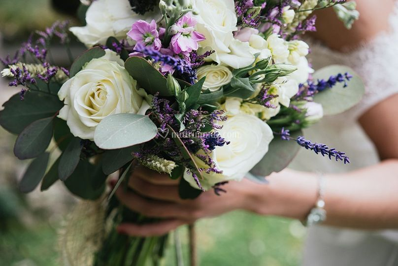 Bouquet shabbychic