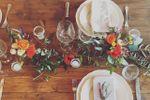 Olivo,candele e fiori