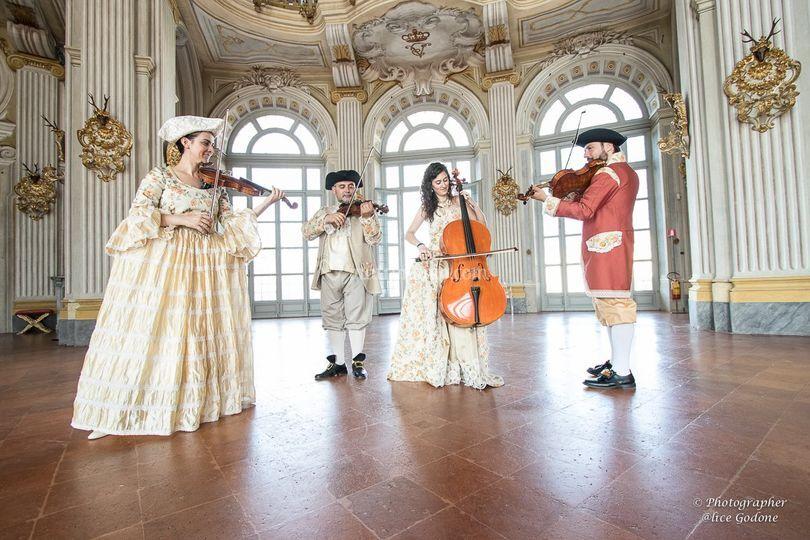 Concerto in residenze storiche
