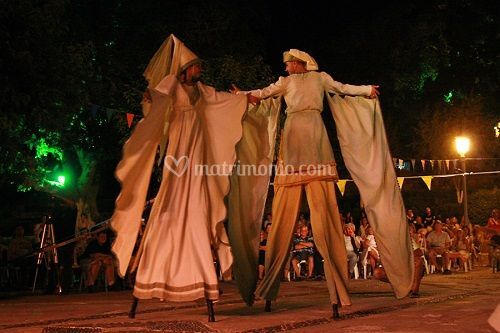 Trampoli danze orientali