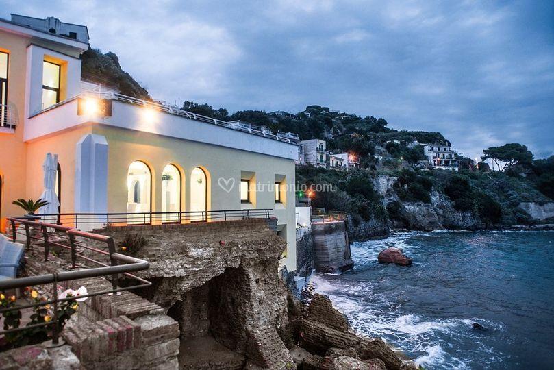 Location Matrimonio Spiaggia Napoli : Villa sole & luna