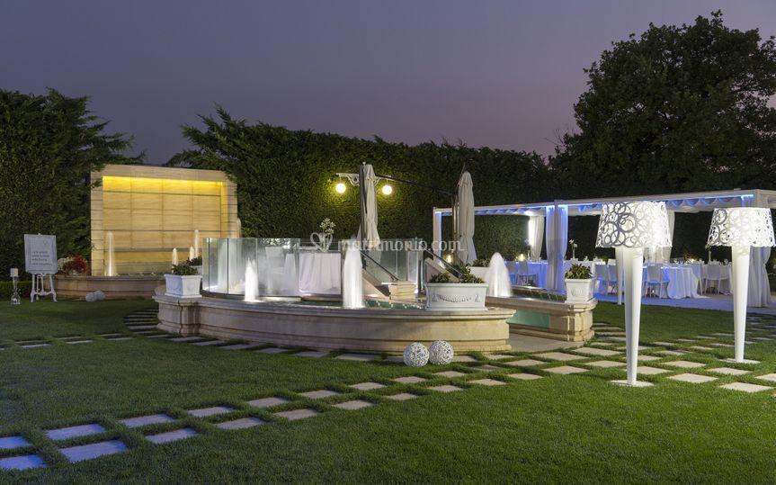 Location - giardino esterno