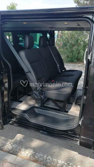 Interni Minivan Opel Vivaro