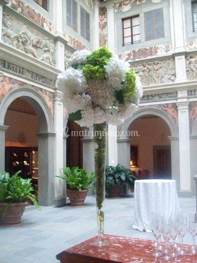 Rose Avalanche E Ortensie : Matrimonio civile al four season di firenze