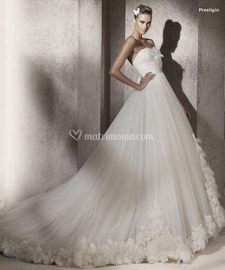 Tendenze abiti da sposa 2012