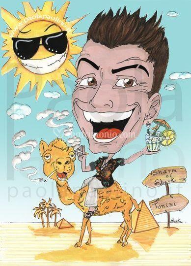 Caricatura estate camel