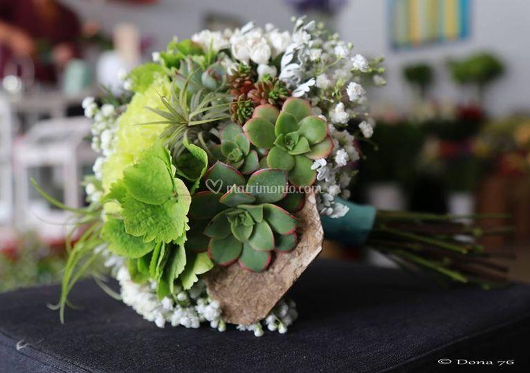 Bouquet crassulacee