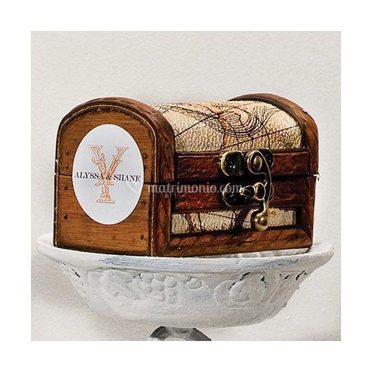 Top Bomboniera scrigno vintage di Shabby Chic Boutique | Foto 15 WR56