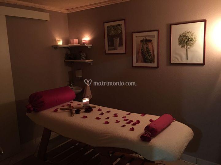 cabina massaggio di centro estetico l'incanto   foto 9