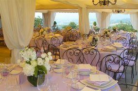 Decorazione tavoli per festa di nozze