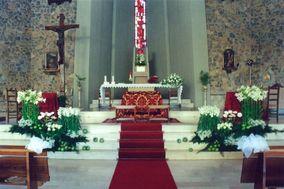 Addobbo chiesa Gesù BuonPastore