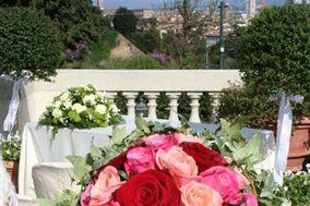 Bouquet da sposa con rose