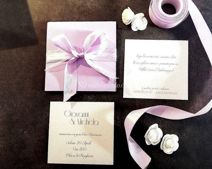 Origami lilla