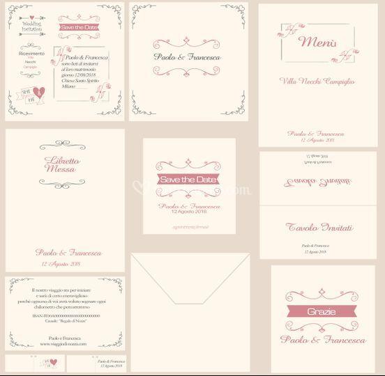 Kit completo lettering