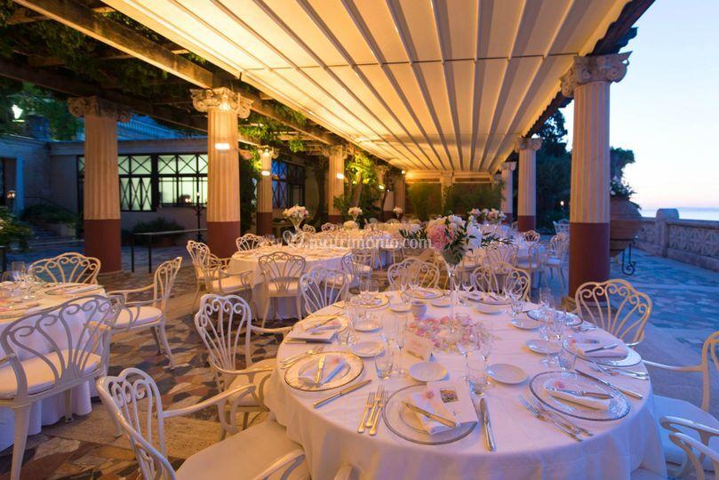 Villa pompeana wedding