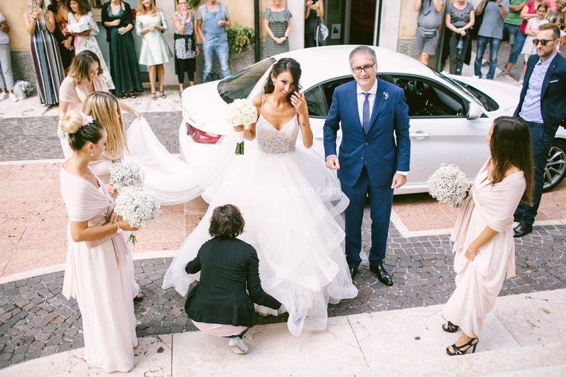 Tutto perfetto per la sposa