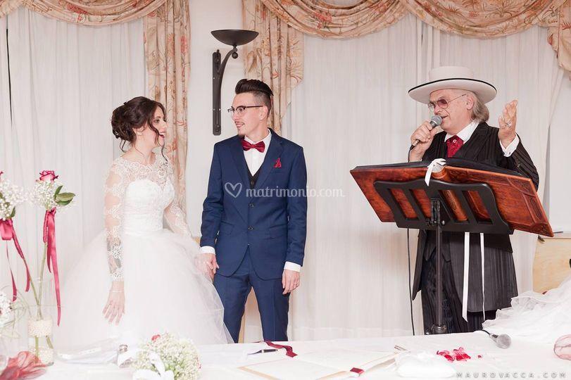 Matrimonio all'americana