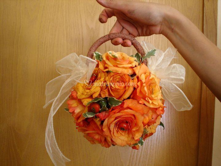 Bouquet a borsetta