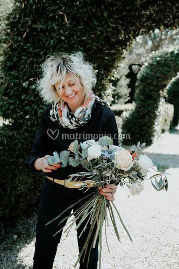 Preparazione bouquet